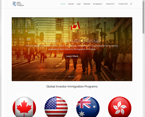 Global Investor Immigration home
