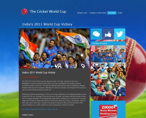 thecricketworldcup.com