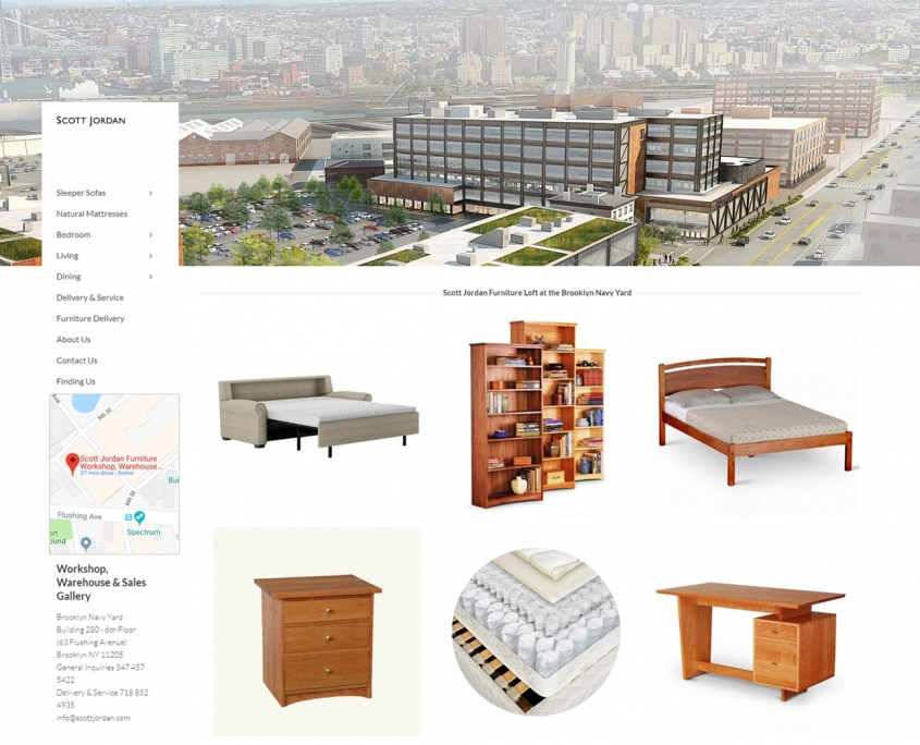 Scott Jordan Furniture Workshop, Warehouse & Sales Gallery