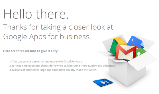 Google Apps for Business 2