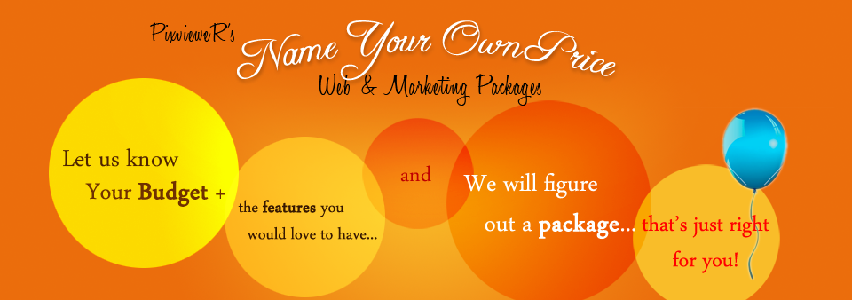 Name your price web development and marketing package 1