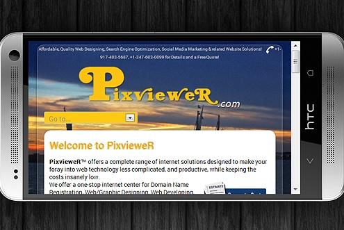 Responsive Web Design RWD Fluid Design for optimal viewing 4