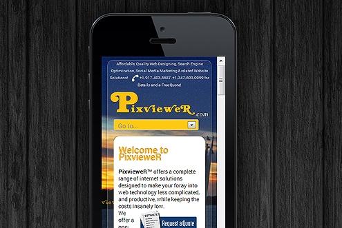 Responsive Web Design RWD Fluid Design for optimal viewing 5