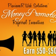 Earn $50 to $500 for each new customer you refer
