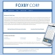 Foxby Corp's mobile-friendly site