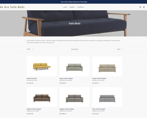 We Are Sofa Beds! Shop